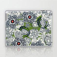 succulents green orange star Laptop & iPad Skin