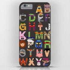 TMNT ABCs iPhone 6s Plus Slim Case