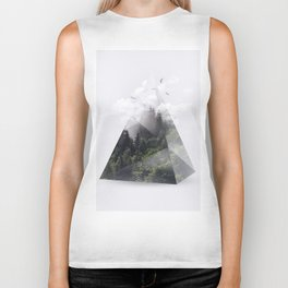 Forest triangle Biker Tank