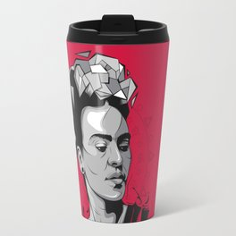 Frida Kahlo - Trinchera Creativa Travel Mug