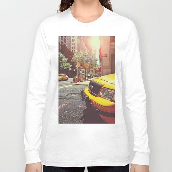 NYC Taxi Cab Long Sleeve T-shirt
