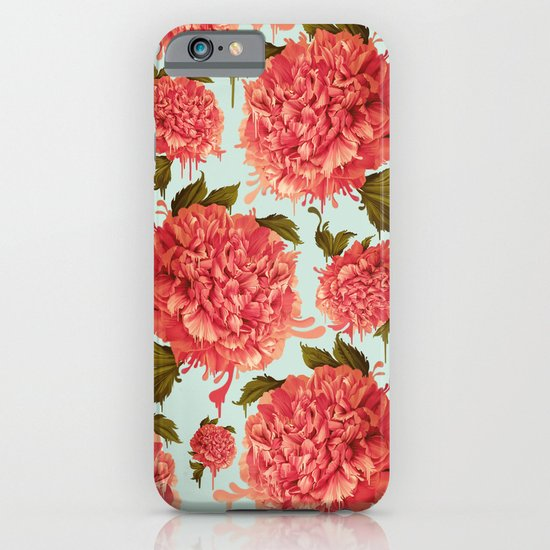 A Splash of Peony, A Dash of Color iPhone & iPod Case