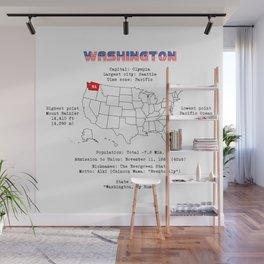 Washington Wall Mural