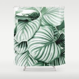 Long embrace Shower Curtain