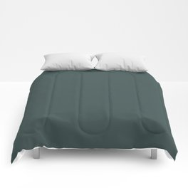 Night Watch PPG Glidden Paint Color of the Year 2019 Solid Color Comforters