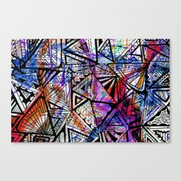 _LOT OF THINKING Canvas Print