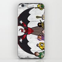 dungeons and dragons iPhone & iPod Skins featuring DUNGEONS & DRAGONS by Zorio