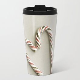 Candy cane love Travel Mug