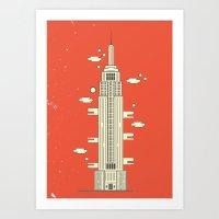 Empire State Building - Print Art Print