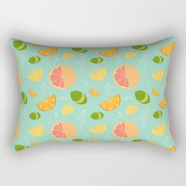 Les Agrumes (Citrus) Pattern Rectangular Pillow