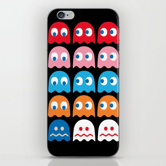 PACMAN GHOSTS iPhone & iPod Skin