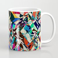 kandinsky Mugs featuring Harley by Glanoramay