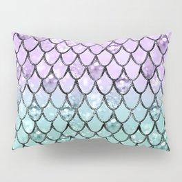 Mermaid Princess Glitter Scales #2 #shiny #pastel #decor #art #society6 Pillow Sham