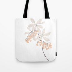 Enkianthus Flower Tote Bag