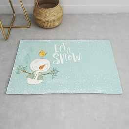 let it snow 4 Rug
