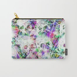 Rock n' roll skulls Carry-All Pouch