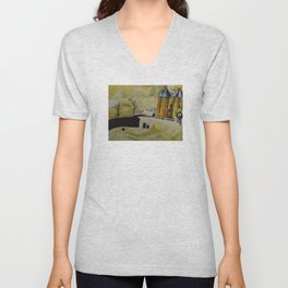PtLY 1 Ode to Chagall Unisex V-Neck