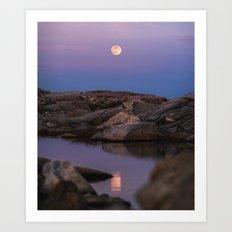 Full Moonrise Art Print