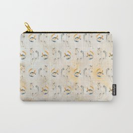Golden Equine Carry-All Pouch