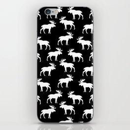 Moose Trot // Black iPhone Skin
