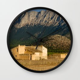 Parque Natural De Sierra Maria-Los Velez Wall Clock