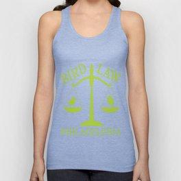 Bird Law Philadelphia (ALWAYS SUNNY) Unisex Tank Top