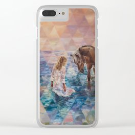 The Secret Seekers Clear iPhone Case