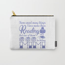 Reading Mimi Carry-All Pouch