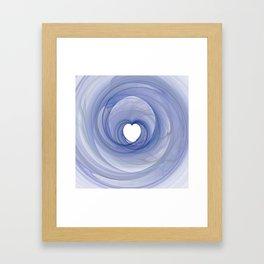Valentine's Fractal III - Light Framed Art Print