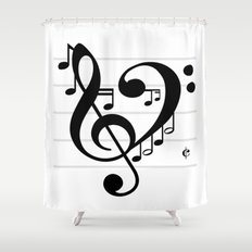 Love Music II Shower Curtain