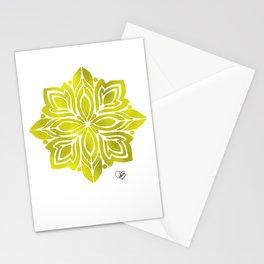 Gold Mandala Stationery Cards