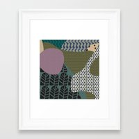 rare Framed Art Prints featuring Rare rabbit by Akwaflorell