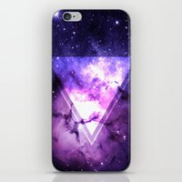 outer space iPhone & iPod Skins featuring Outer Space by Erick Navarro