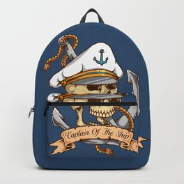 Captain of the Ship Backpack