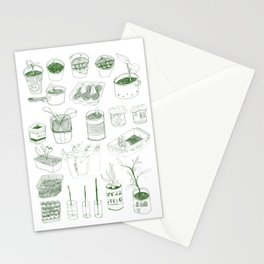 Cover, CONTAIN, Compost - 2 of 3 Stationery Cards