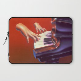 Piano Lessons Can Be Murder Laptop Sleeve
