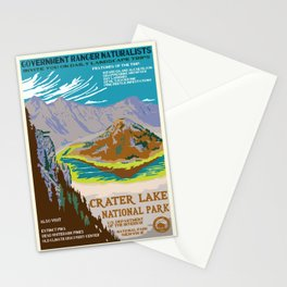 National Parks 2050: Crater Lake Stationery Cards