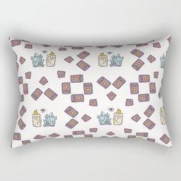 Mindful Tarot Card Reading Rectangular Pillow