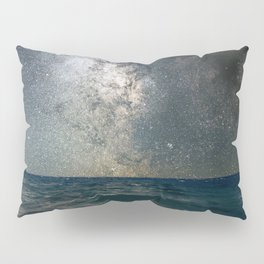 Milky Way Over The Sea Pillow Sham