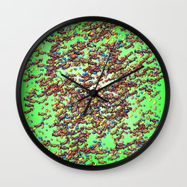 Candy Work - just for kids Wall Clock