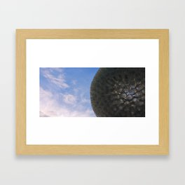 Sculpture and Sky Framed Art Print
