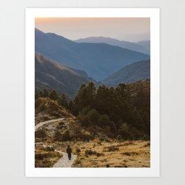 Himalaya Wanderings Art Print
