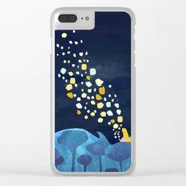 follo your dreams Clear iPhone Case