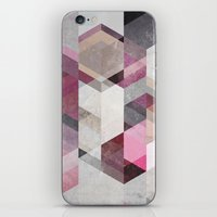 nordic iPhone & iPod Skins featuring Nordic Combination 22 Y by Mareike Böhmer