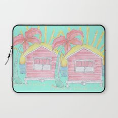 Beach Shack Vibes Laptop Sleeve