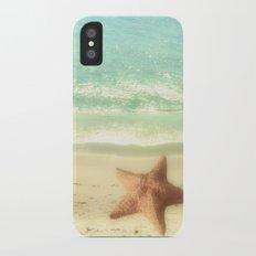 VINTAGE STARFISH iPhone X Slim Case