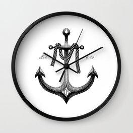 Hope Anchor - Hebrews 6:19 Wall Clock