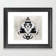 Eye of Infinity Framed Art Print