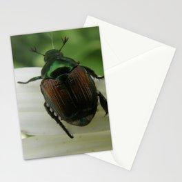 Metallic Emerald Green Stationery Cards