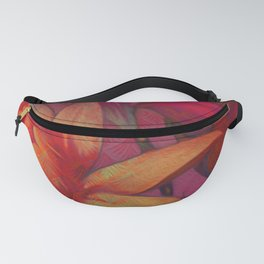 """""""Retro Giant Floral Pattern"""" Fanny Pack"""